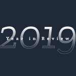 A synthetic image of 2019 'year in review'