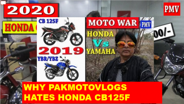 Pak Moto Vlogs Imrpressions about Honda Motorcycles in Pakistan