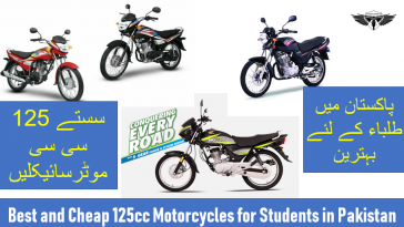 Best and Cheap Motorcycles in Pakistani market