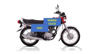 HONDA CG125 2021