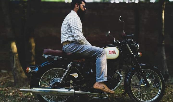 Amy Rana 's Royal Enfield